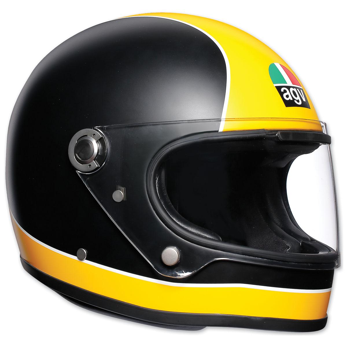 AGV X3000 Super AGV Yellow/Black Full Face Helmets