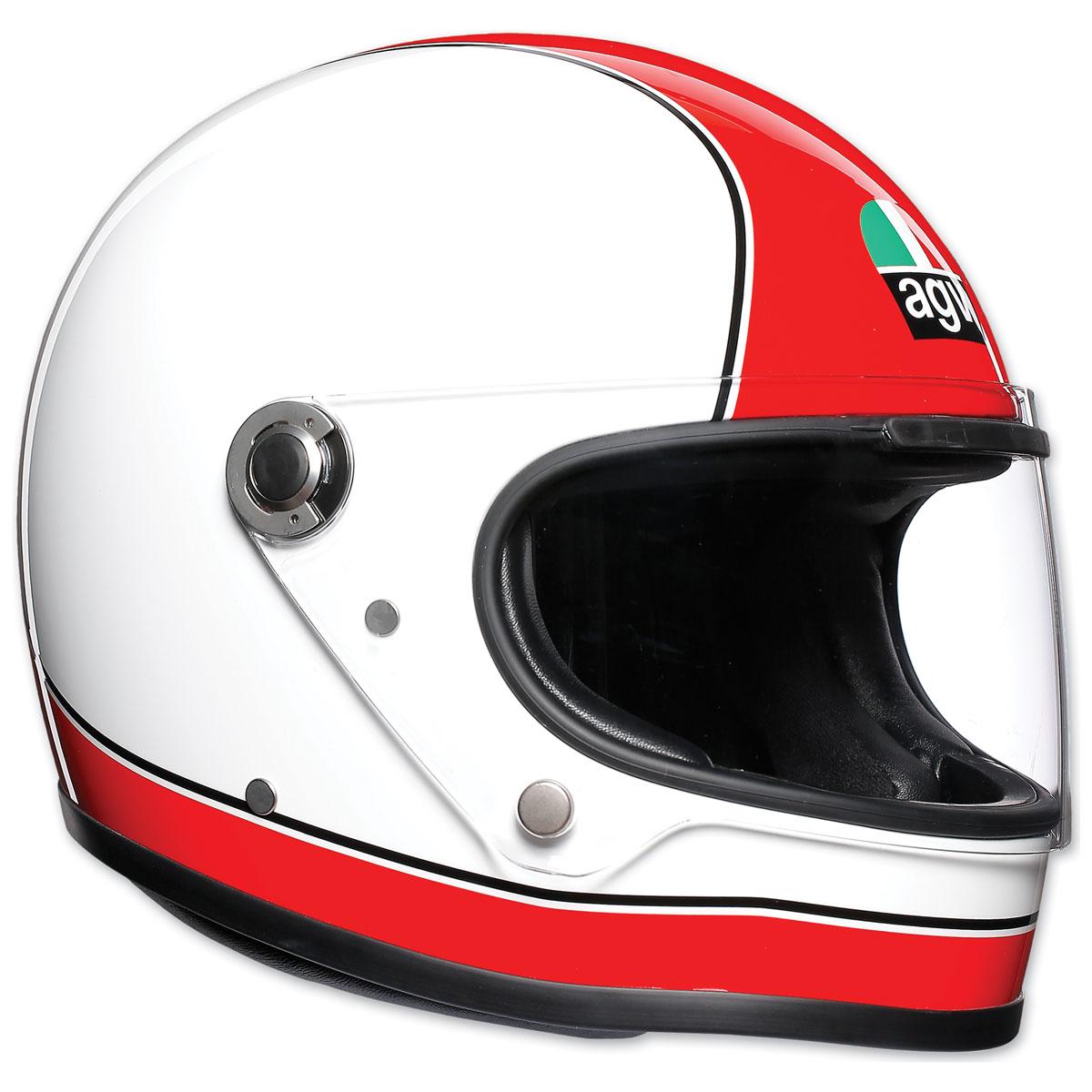 AGV X3000 Super AGV White/Dark Red Full Face Helmet