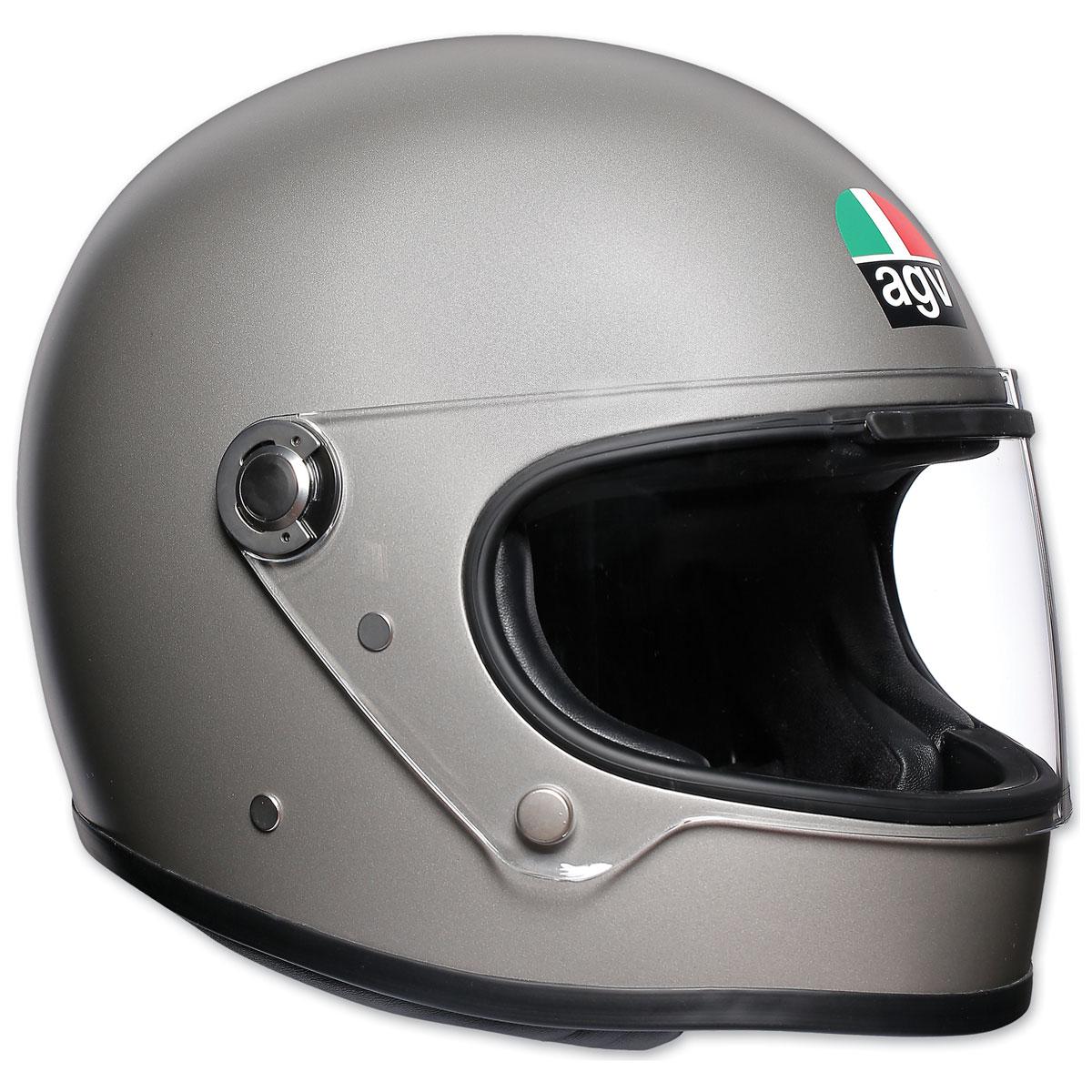 AGV X3000 Matte Light Gray Full Face Helmet