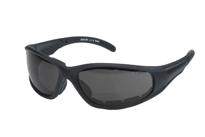 Chap'el S23BF Smoke Lens Bi-Focal Padded Sunglasses