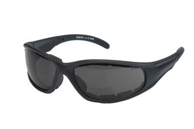 Chap'el S23BF Smoke Lens Bi-Focal Padded Sunglasses