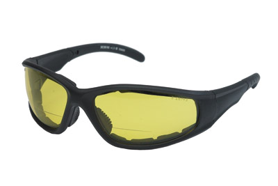 Chap'el S23BF Night Driving Lens Bi-Focal Padded Sunglasses