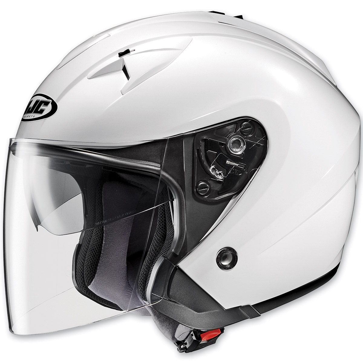 HJC IS-33 White Open Face Helmet