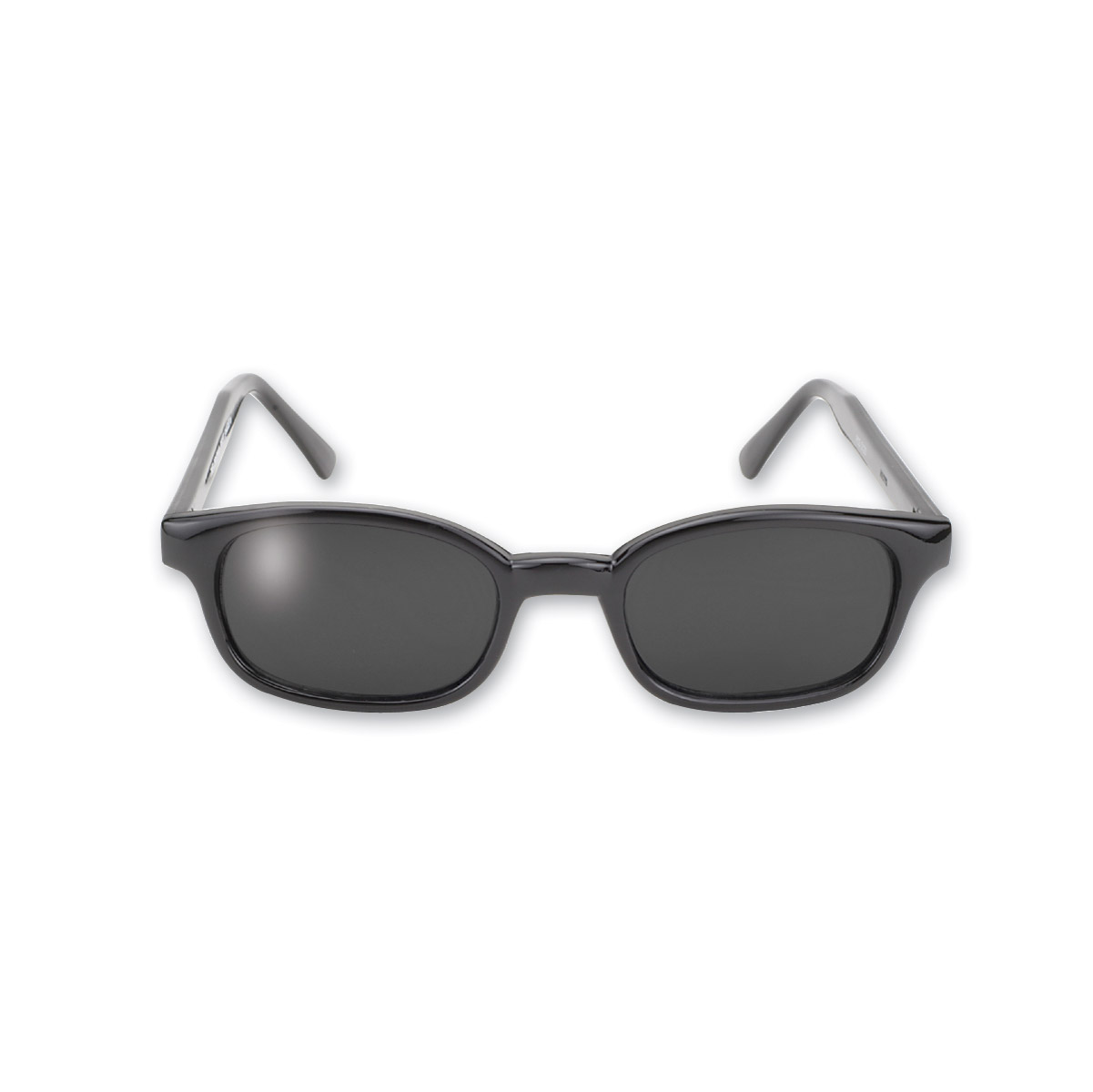 KD's Sunglasses - Black Frame with Dark Grey Lens