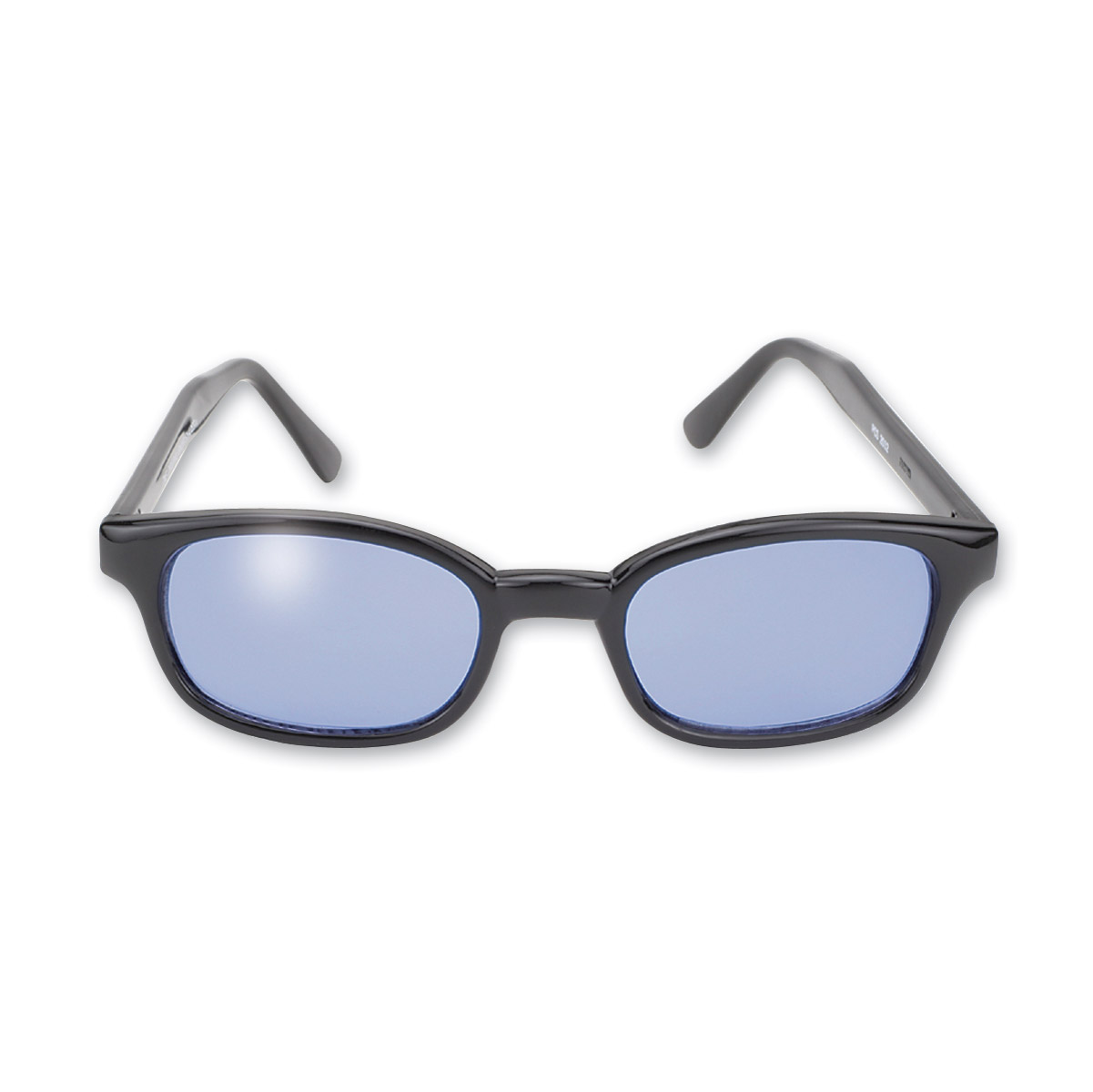 KD's Sunglasses - Black Frame with Blue Lens