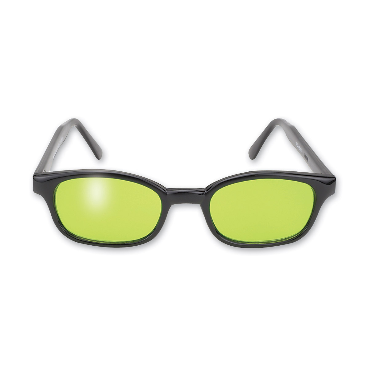 KD's Sunglasses - Black Frame with Green Lens