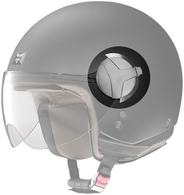 Nolan N20 Faceshield Dark Inx Mechanism