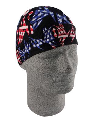 ZAN headgear Tribal Patriot Flydanna Head Wrap