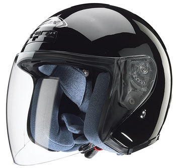 Zox Kaba Black Open Face Helmet