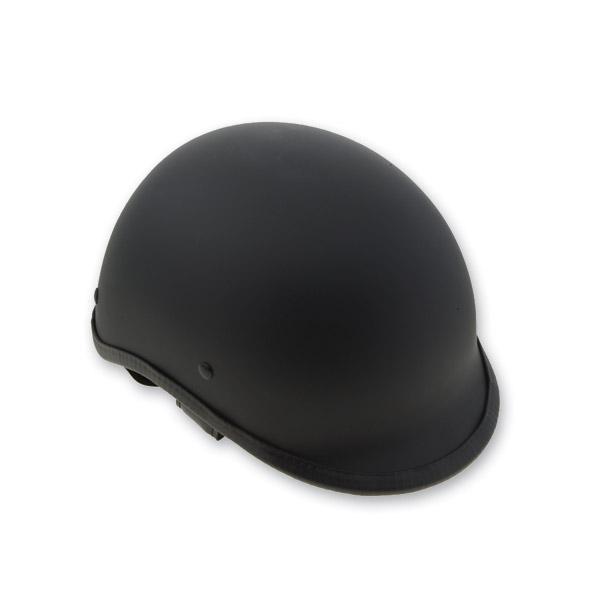 HCI-105 Designer Polo Matte Black Half Helmet