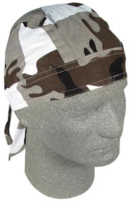 ZAN headgear Urban Camo Head Wrap