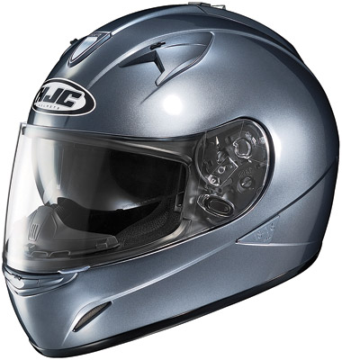 HJC IS-16 Anthracite Full Face Helmet with Sun Shield