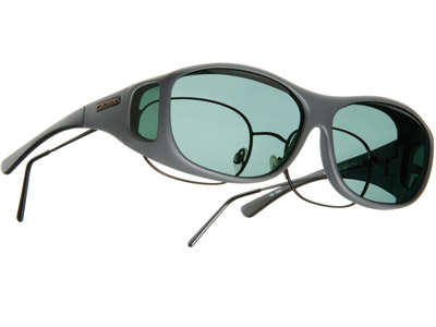 Cocoons Slim Line Medium Slate Frame Sunglasses
