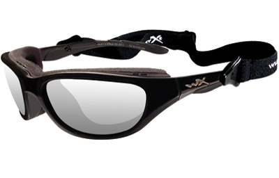 Wiley X AirRage Sunglasses with Clear Lens