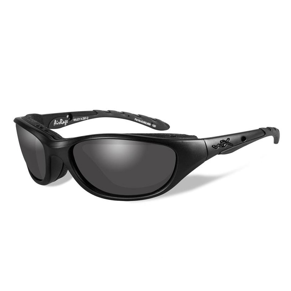 Wiley X AirRage Sunglasses with Smoke Gray Lens