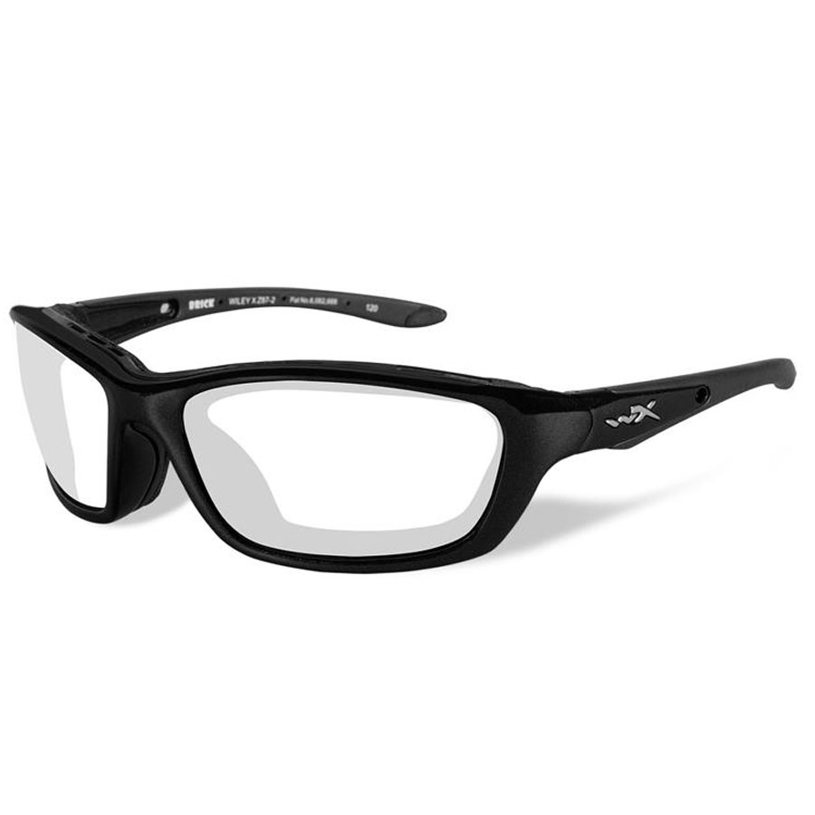 Wiley X Brick Sunglasses with Clear Lens