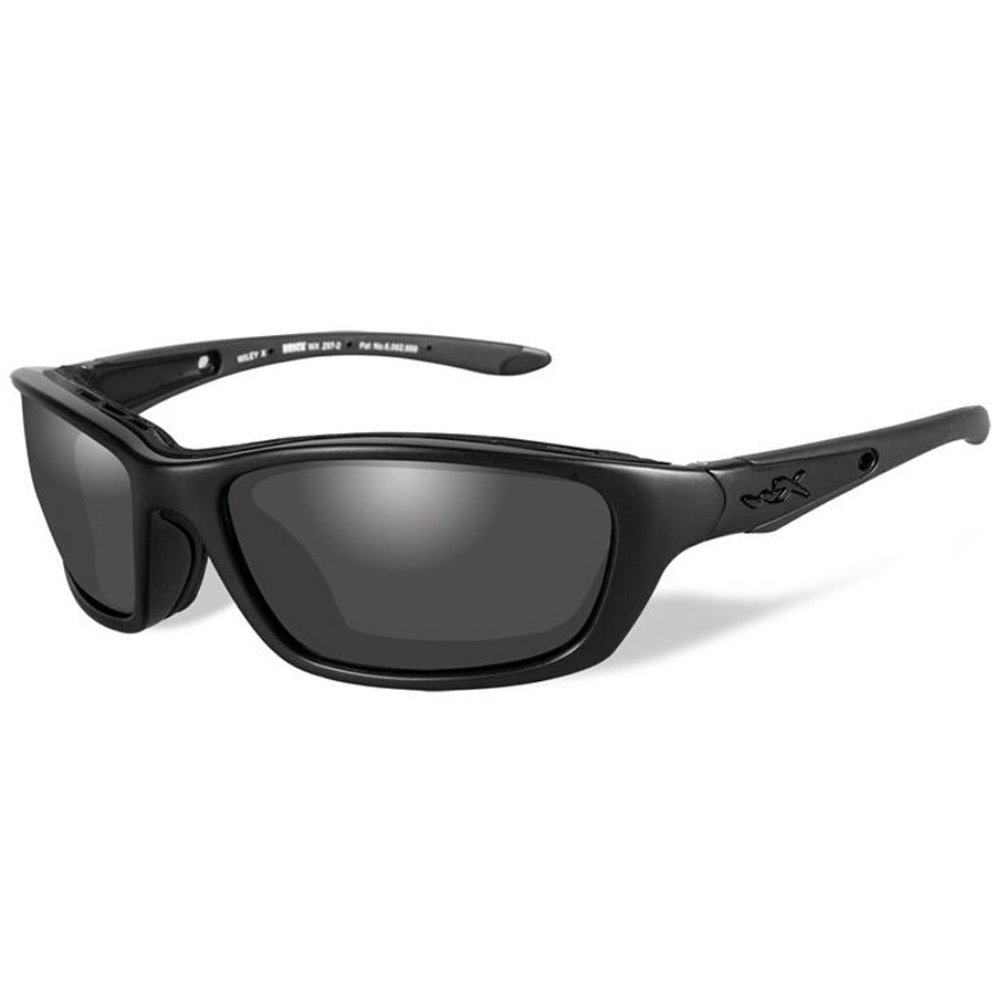 Wiley X Brick Sunglasses with Smoke Gray Lenses
