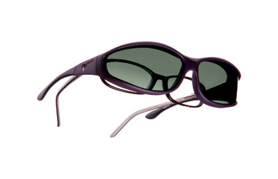 Vistana Soft Touch Violet Frame Sunglasses