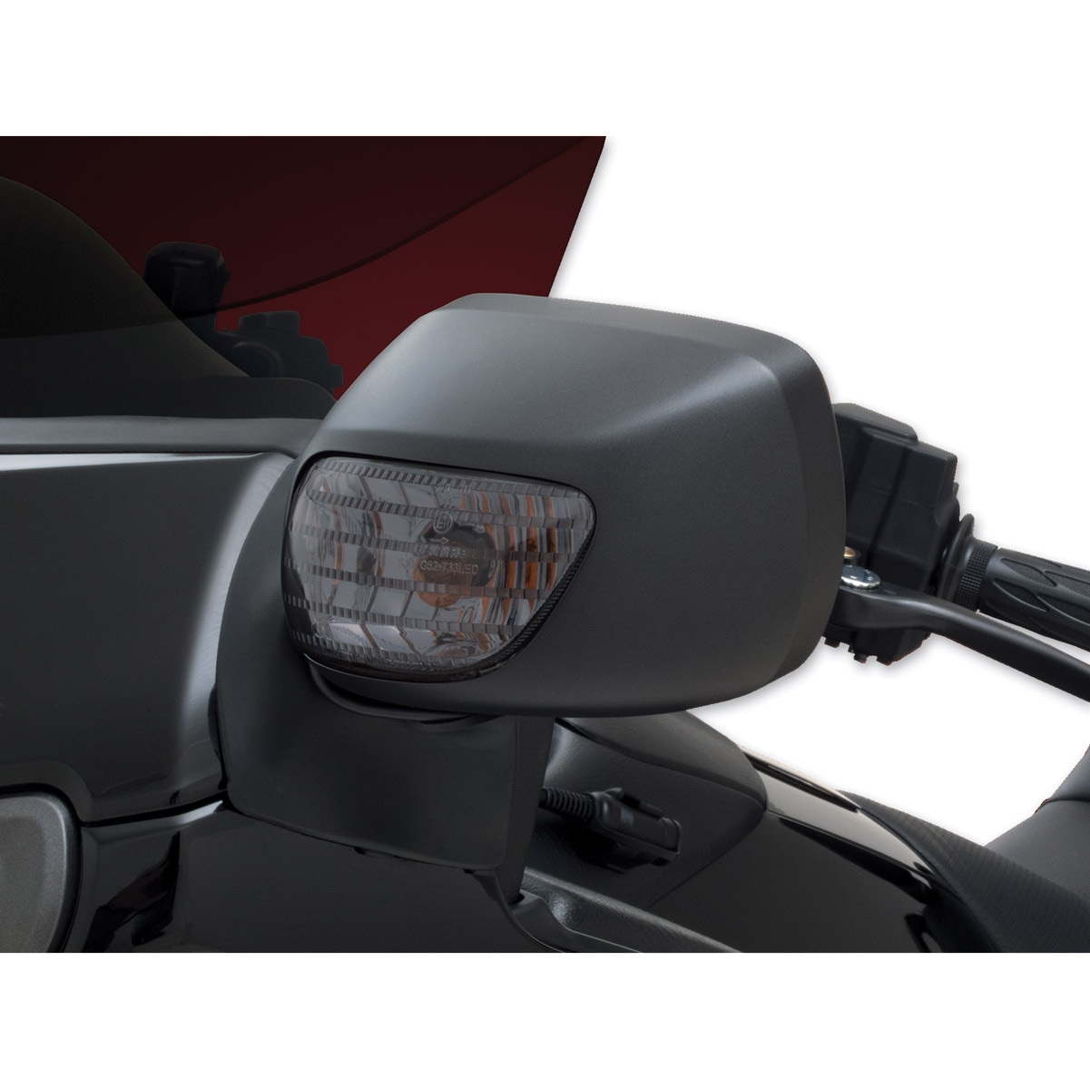 Show Chrome Accessories Clear Turn Signals
