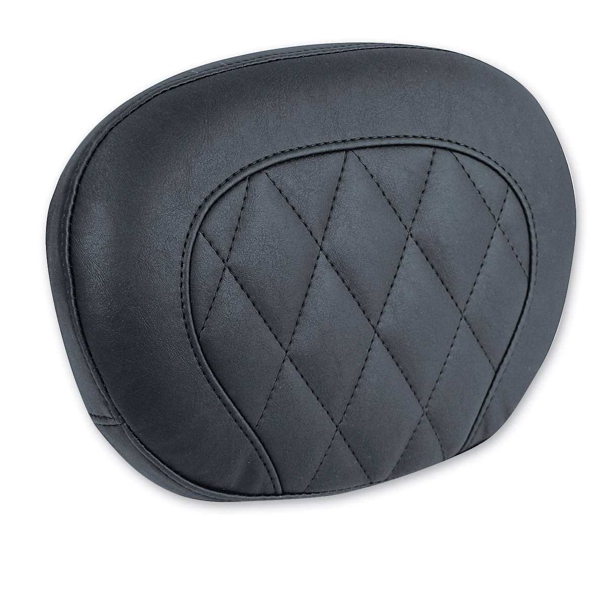 Mustang Black Diamond Stitch Sissy Bar Pad