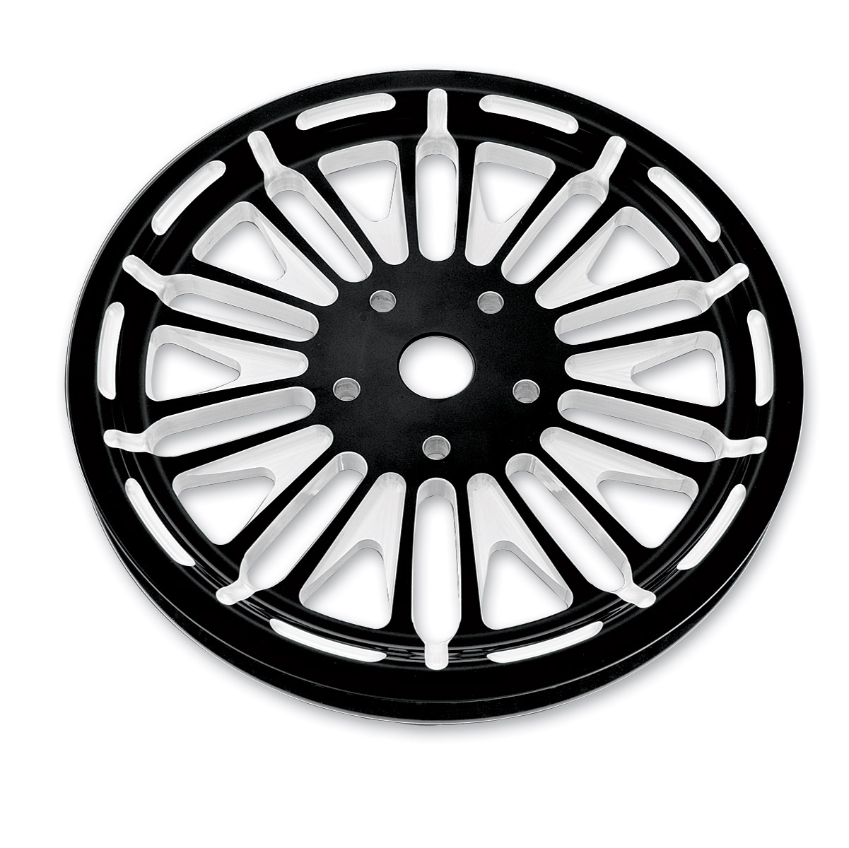 Roland Sands Design Boss Contrast Cut 65T Forged Aluminum Pulley