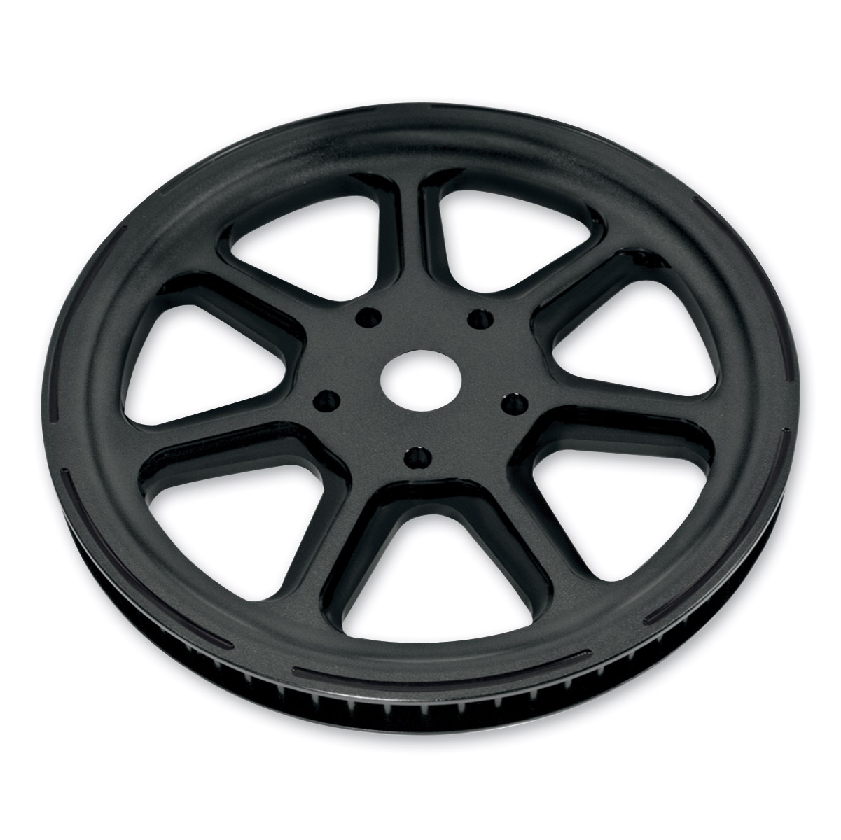 Roland Sands Design Morris Black Ops 65T Forged Aluminum Pulley