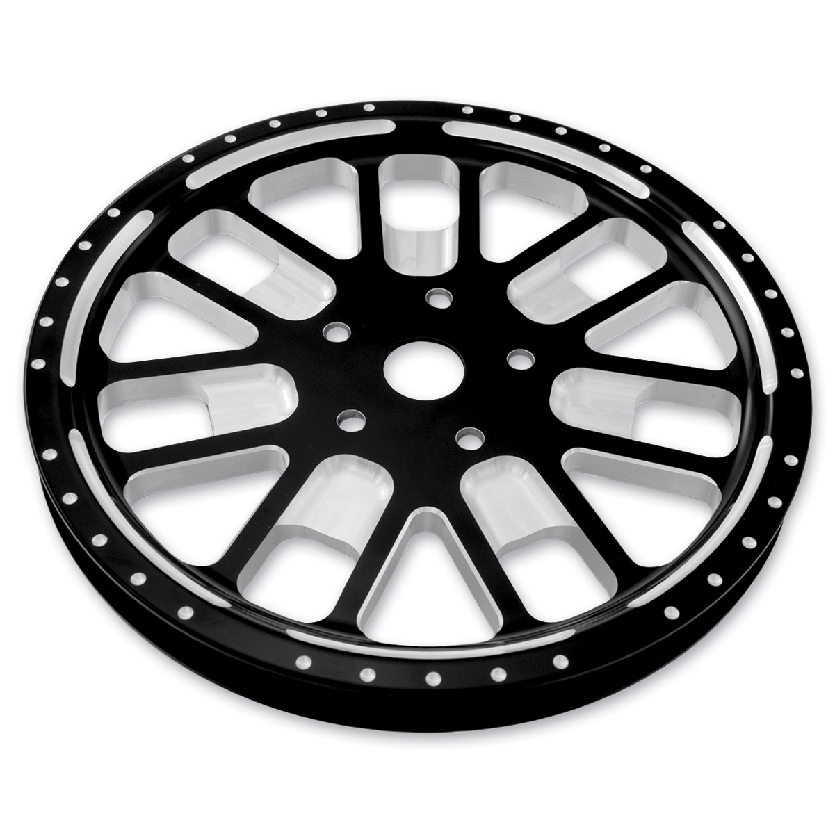 Roland Sands Design Slam Contrast Cut 70T Forged Aluminum Pulley