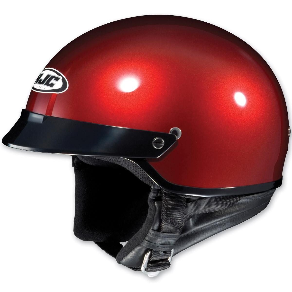 HJC CS-2N Metallic Wineberry Half Helmet