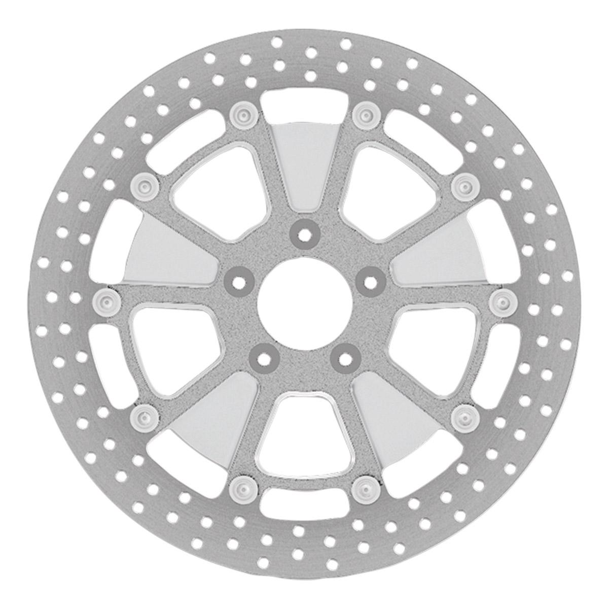 Roland Sands Design Raid Machine Ops Two-Piece Front Brake Rotor, 11.5
