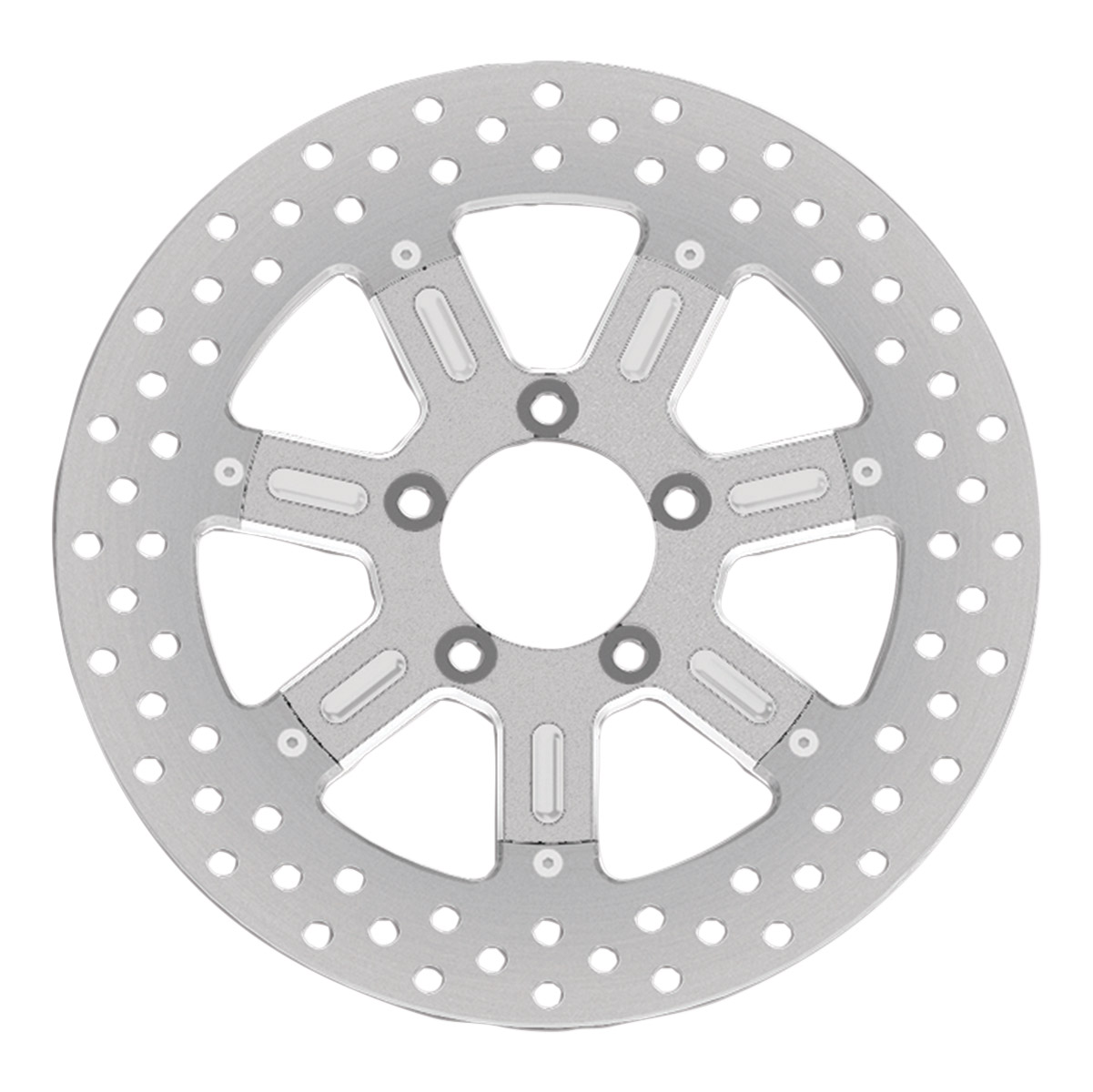 Roland Sands Design Del Mar Machine Ops Two-Piece Front Brake Rotor, 11.8