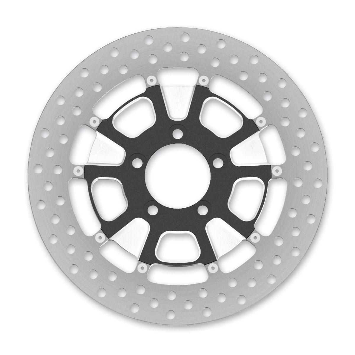 Roland Sands Design Raid Machine Ops Two-Piece Front Brake Rotor, 11.8