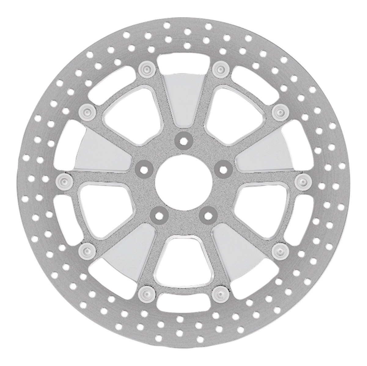 Roland Sands Design Raid Machine Ops Two-Piece Rear Brake Rotor, 11.8