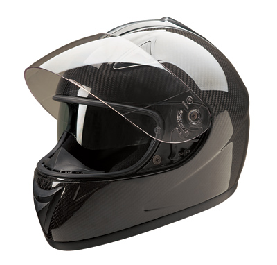 HCI PC77 Carbon Fiber Full Face Helmet with Double Visor
