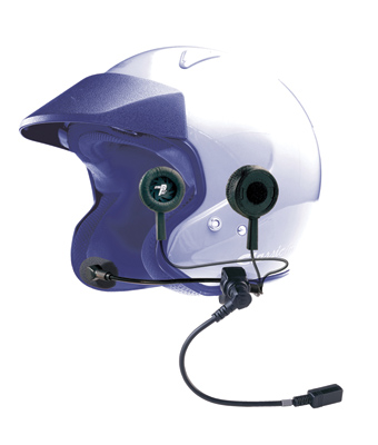 J&M Performance Series Headset with HO AeroMike III for Modular Helmets