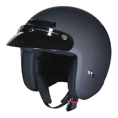 Z1R Jimmy Flat Black Open Face Helmet