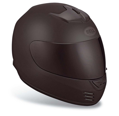 Bell Arrow Matte Black Full Face with Face Shield Helmet
