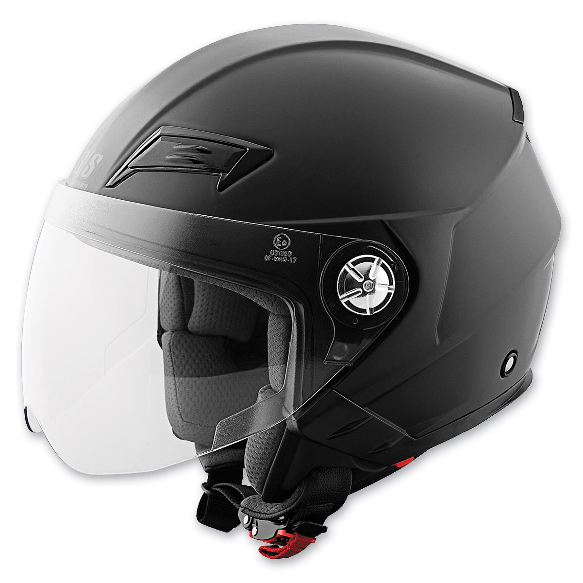 Speed and Strength SS650 Solid Speed Matte Black Open Face Helmet