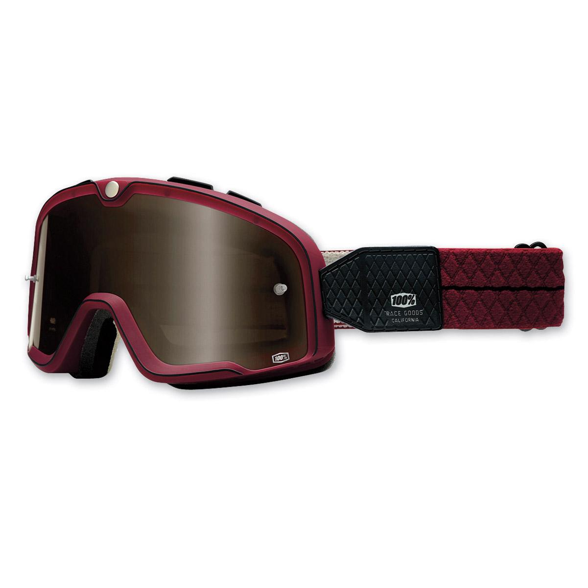 100% Barstow Burgundy Legend Goggles
