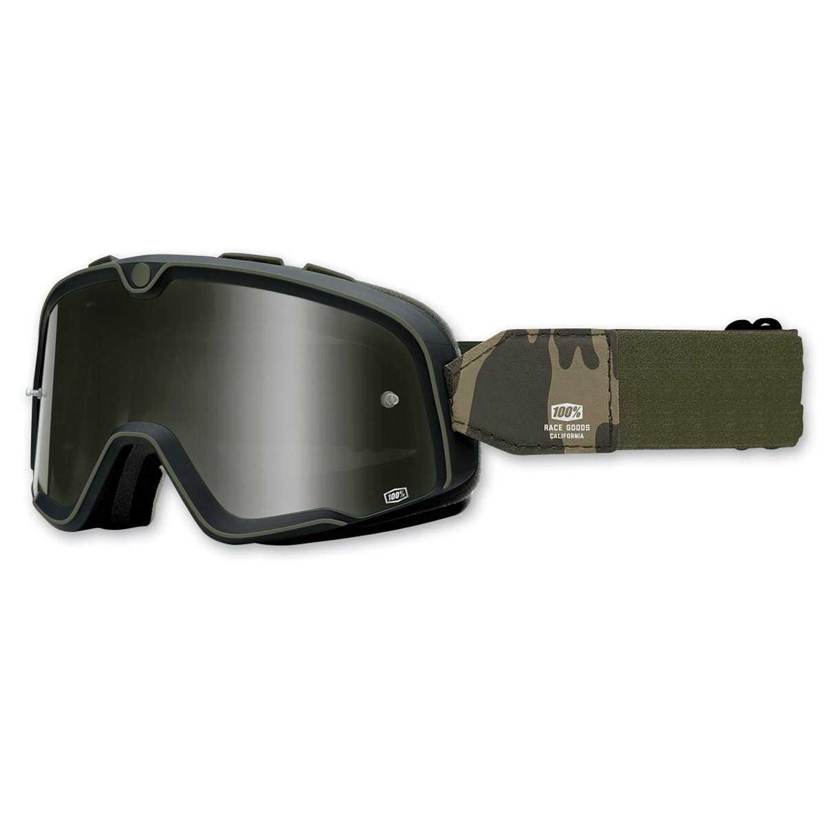 100% Barstow Black Legend Goggles