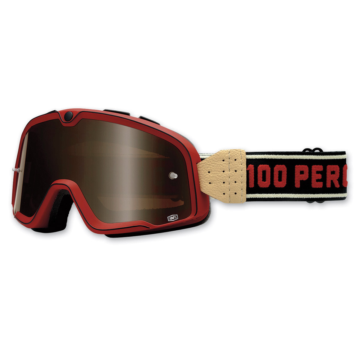 100% Barstow Red Classic Goggles
