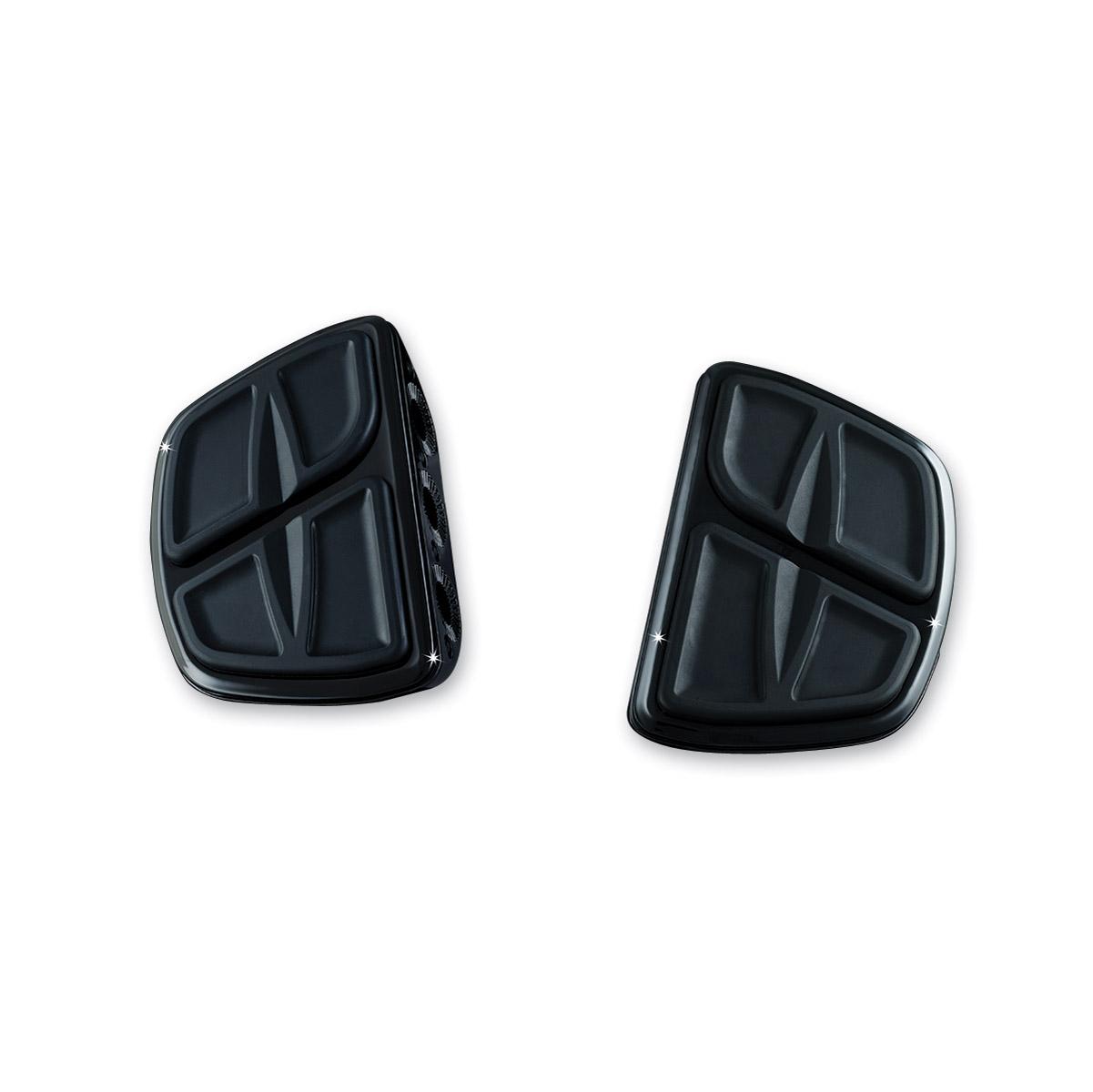 Kuryakyn Black Kinetic Mini Floorboards without Adapters
