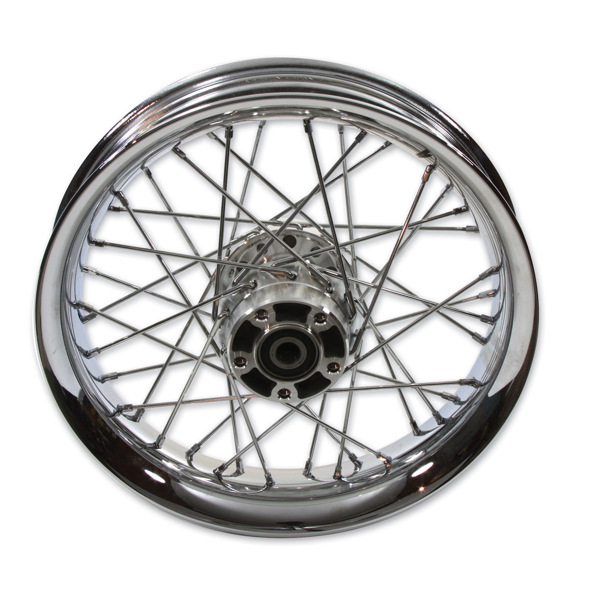 V-Twin Manufacturing 40 Spoke Chrome 16″ Rear Wheel