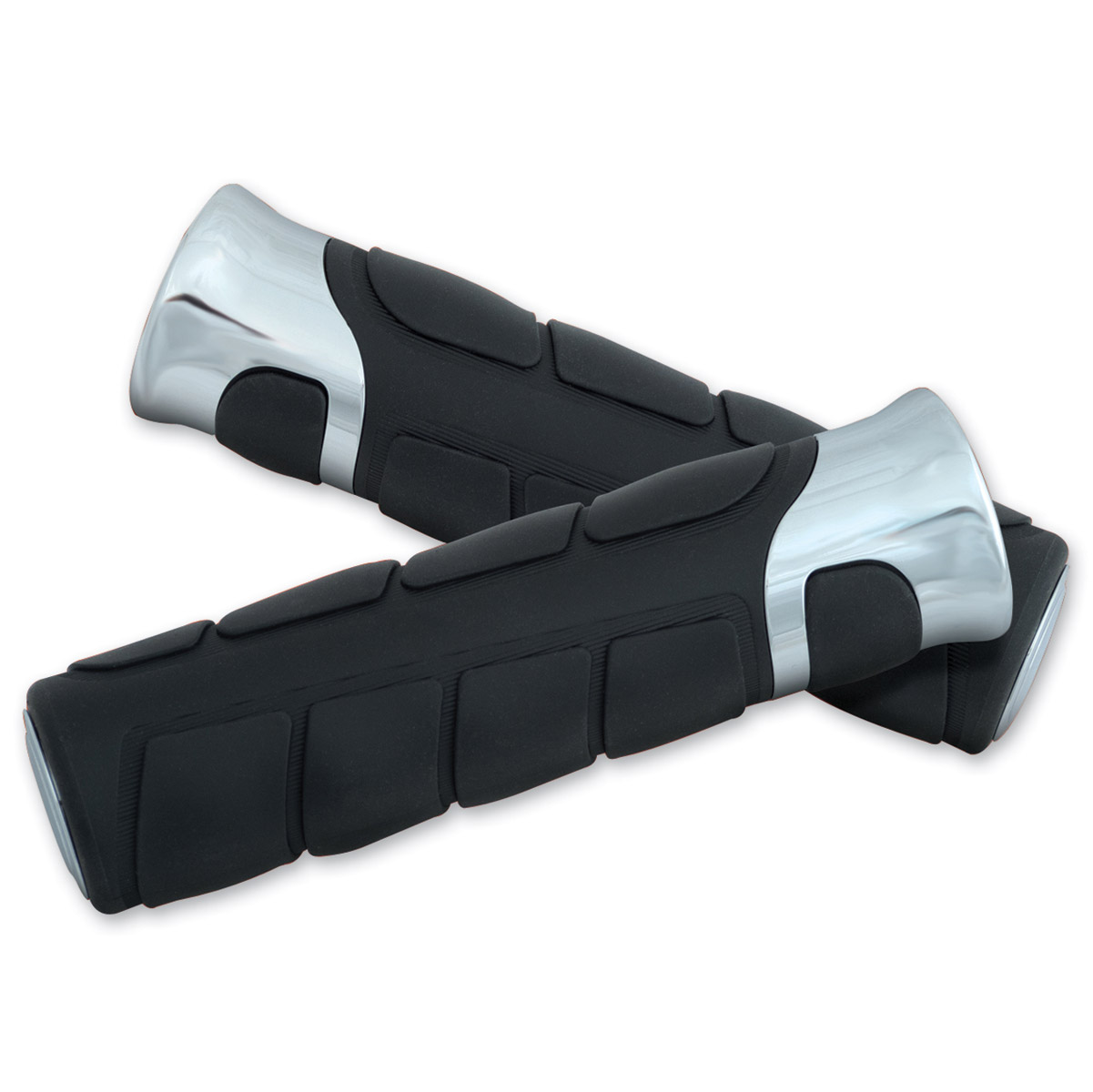 Show Chrome Accessories Solace Rubber Grips