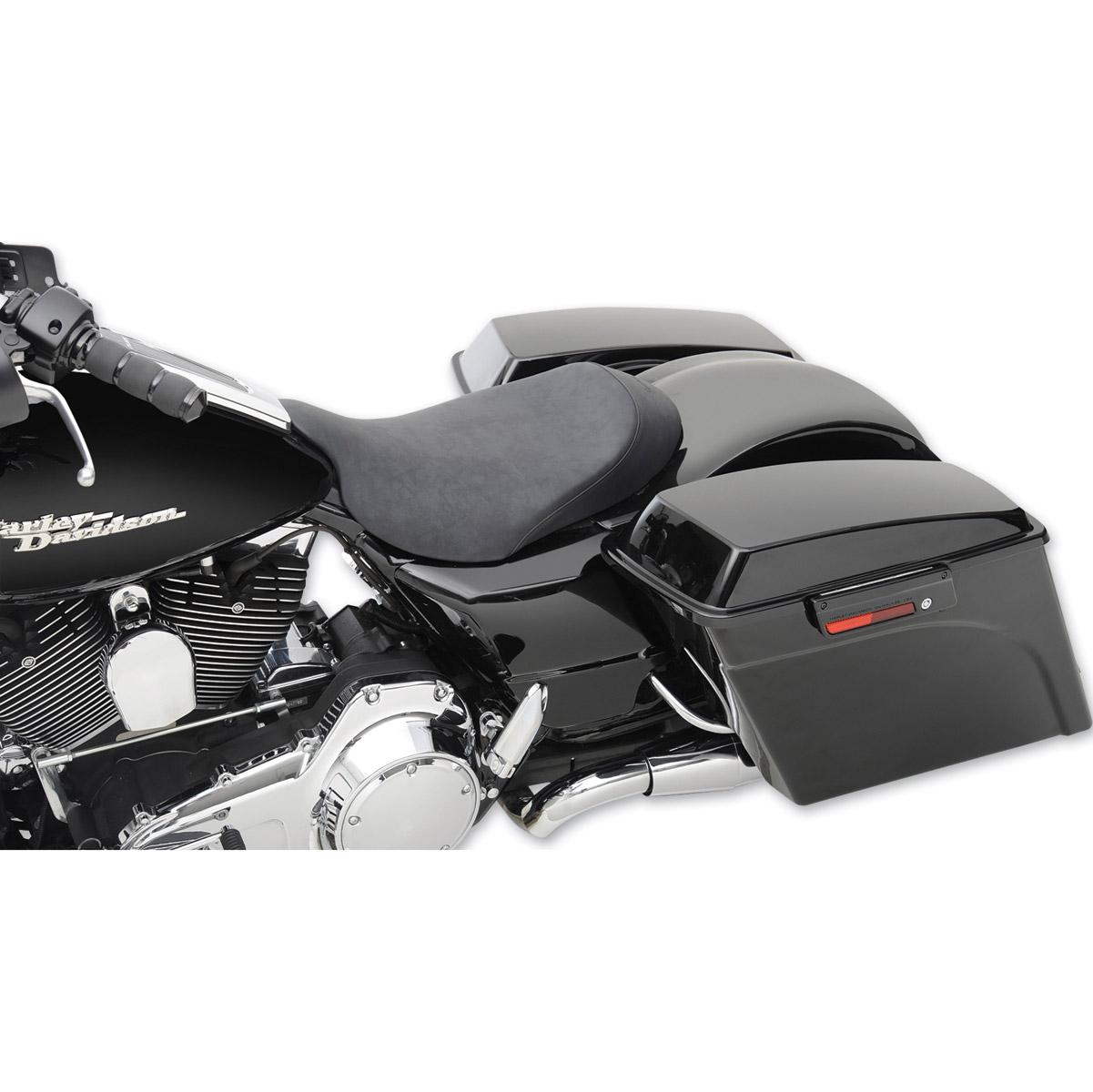 Saddlemen Renegade S3 Super Slammed WP-Suede Cover Solo Seat