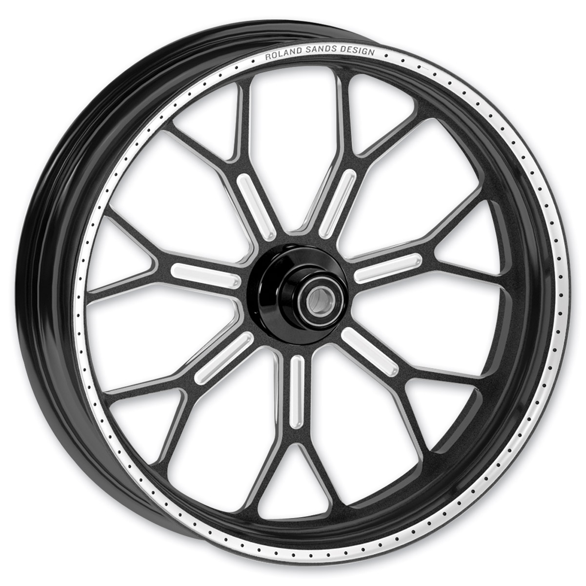 Roland Sands Design Del Mar Contrast Ops Front Wheel, 23