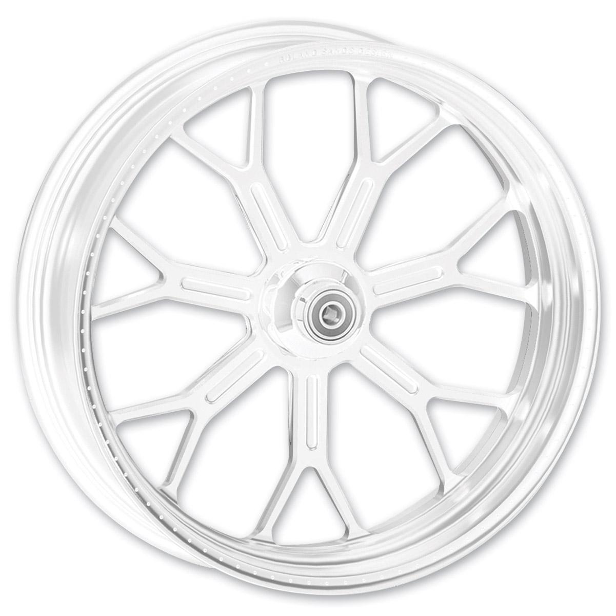 Roland Sands Design Del Mar Chrome Front Wheel, 21
