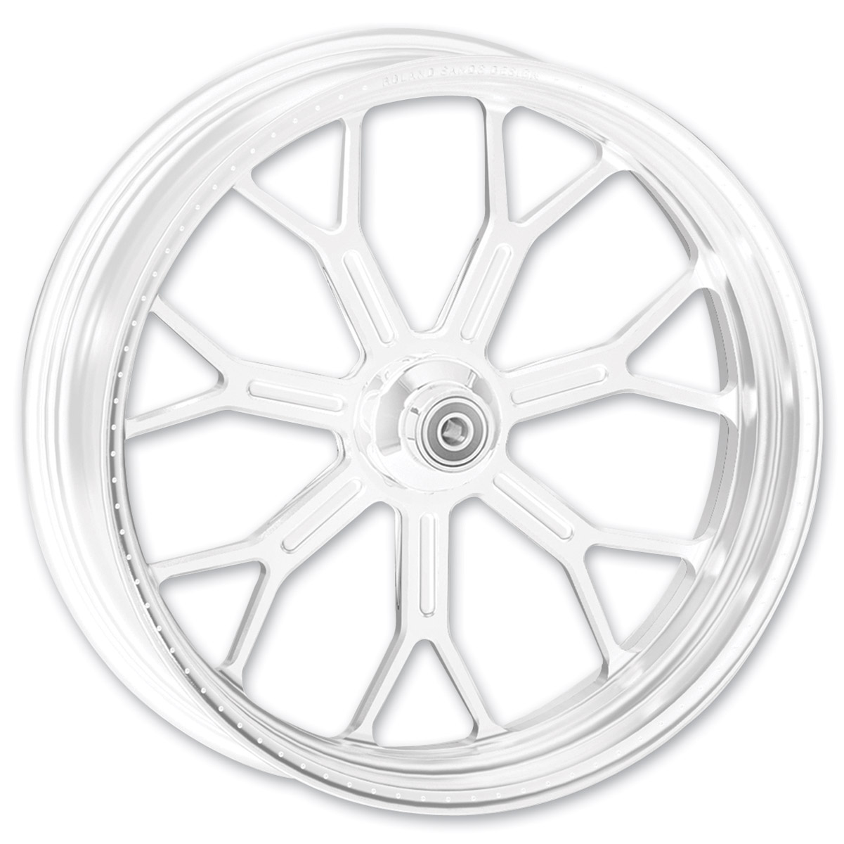 Roland Sands Design Del Mar Chrome Rear Wheel, 17