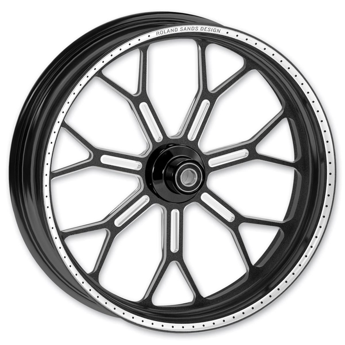 Roland Sands Design Del Mar Contrast Ops Rear Wheel, 17