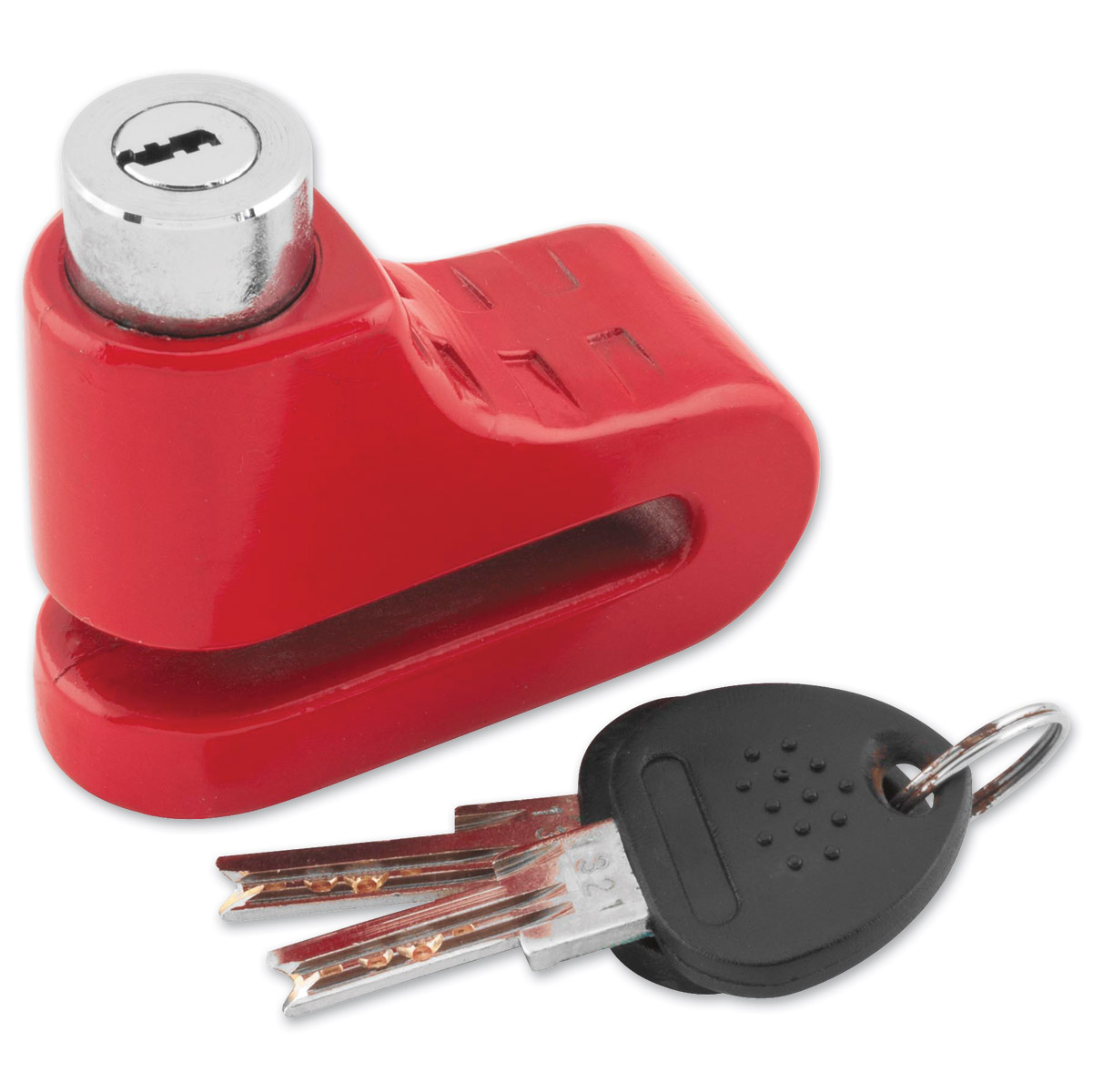 Bully 5.5mm Red Disc Lock