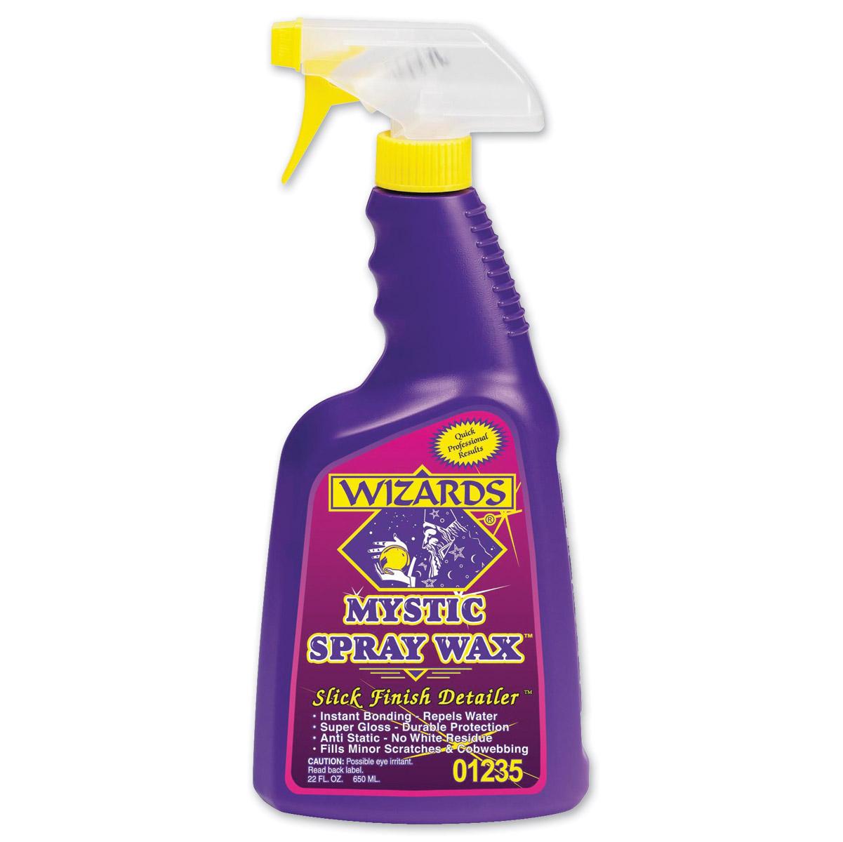 Wizards Mystic Spray Wax Slick Finish Detailer